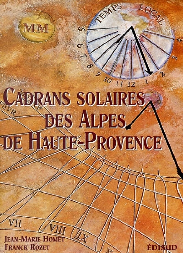Livre - Cadrans solaires des Alpes-de-Haute-Provence