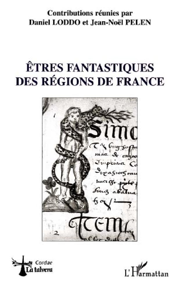 Livre - Êtres fantastiques des régions de France