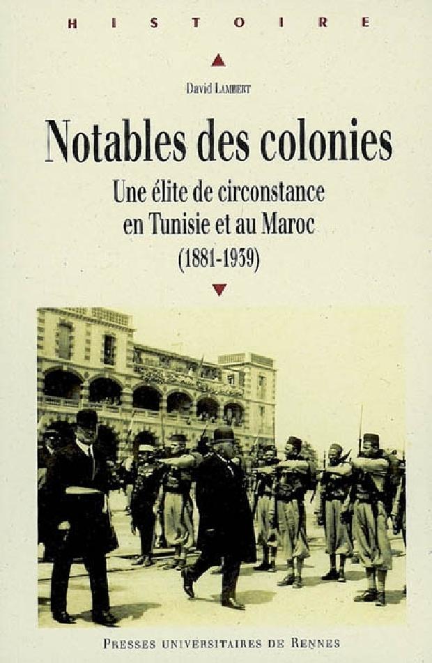 Livre - Notables des colonies