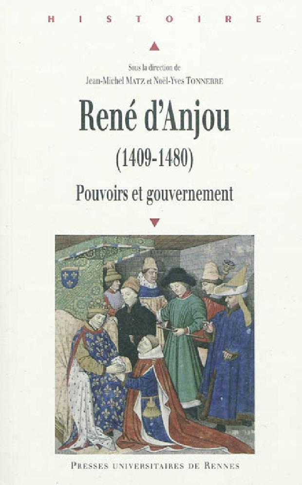 Livre - René d'Anjou, 1409-1480