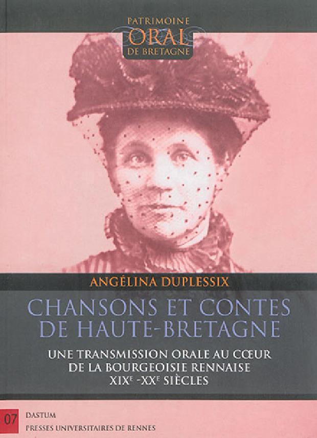 Livre - Chansons et contes de Haute-Bretagne