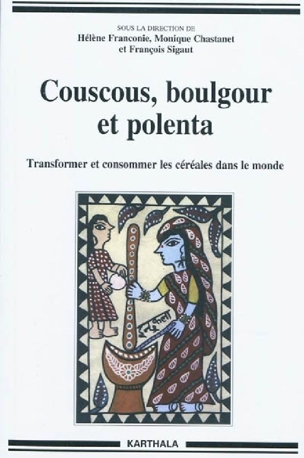 Livre - Couscous, boulgour et polenta