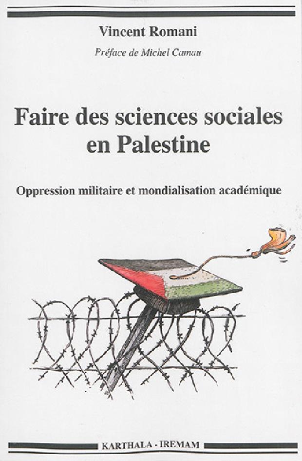 Livre - Faire des sciences sociales en Palestine
