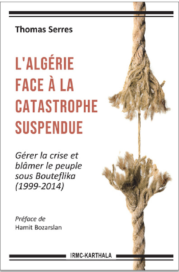Livre - L'Algérie face à la catastrophe suspendue