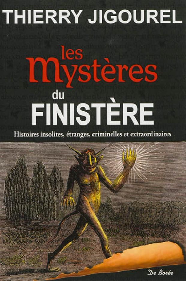 Livre - Les mystères du Finistère