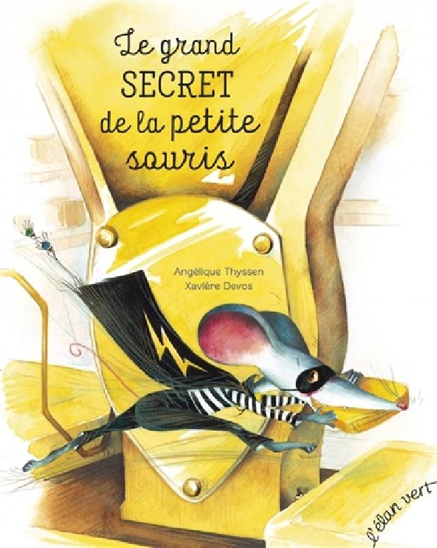 Livre - Le grand secret de la petite souris