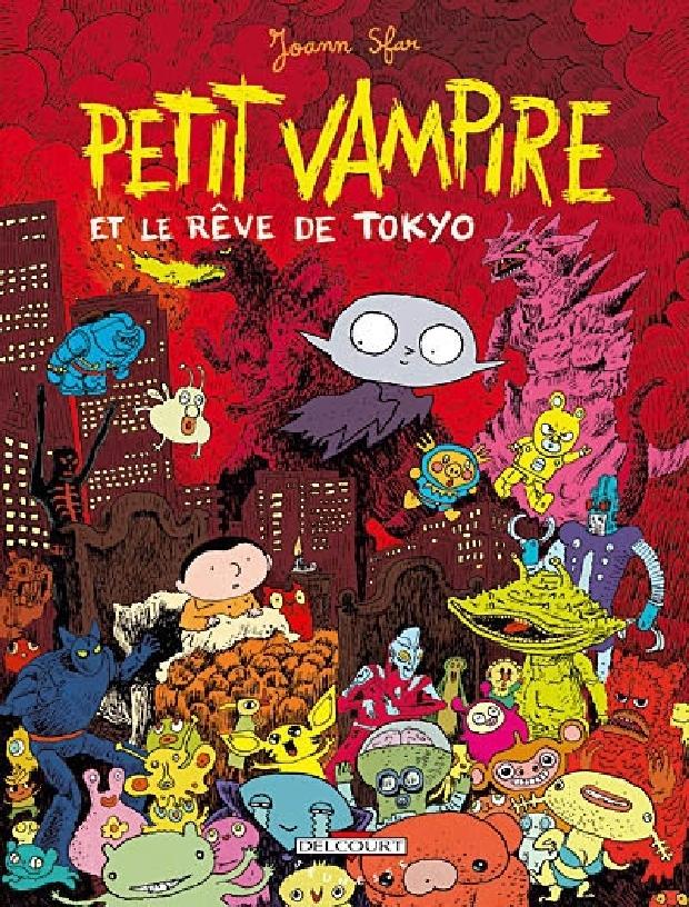 Livre - Petit Vampire et le rêve de Tokyo