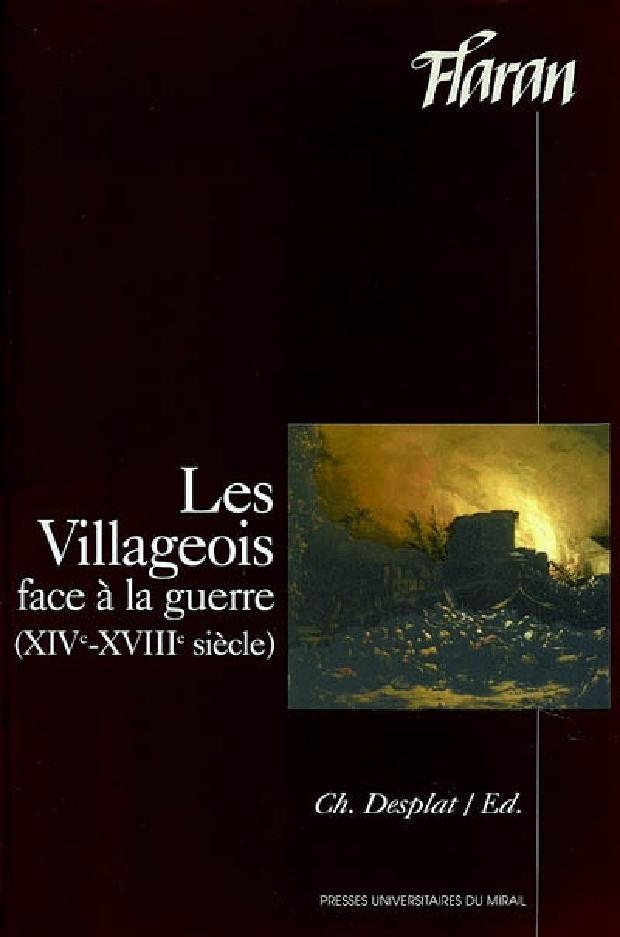 Livre - Les villageois face à la guerre
