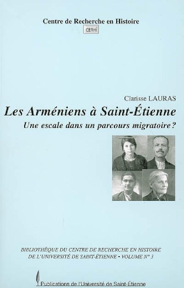 Livre - Les Arméniens à Saint-Étienne