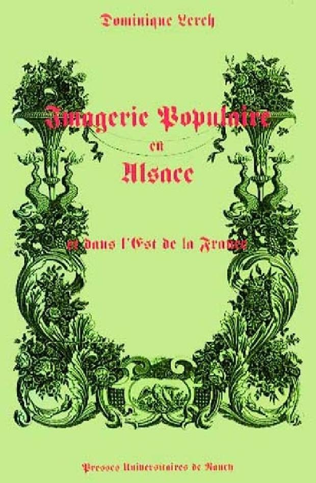 Livre - Imagerie populaire en Alsace et dans l'est de la France