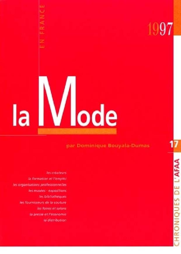 Livre - La mode en France