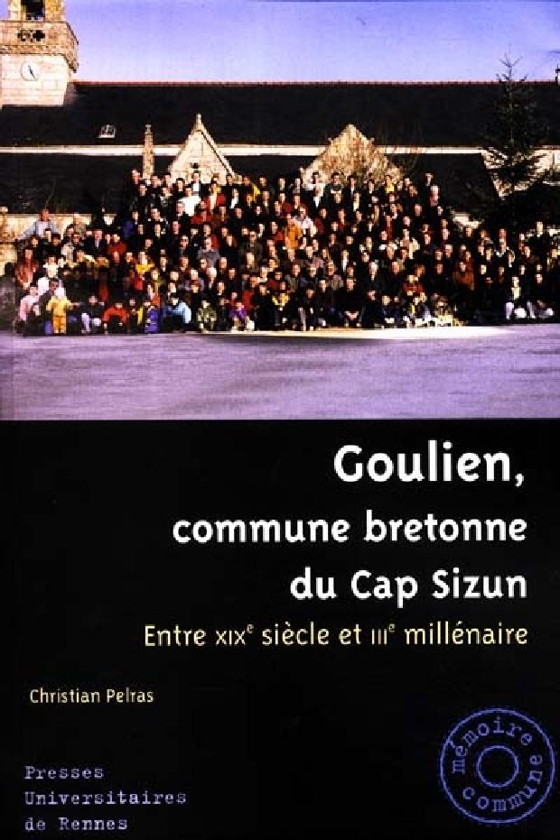 Livre - Goulien, commune bretonne du Cap Sizun
