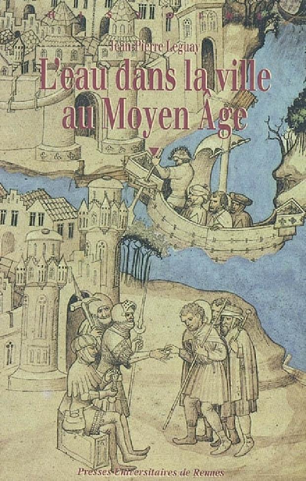 Livre - L'eau dans la ville au Moyen âge