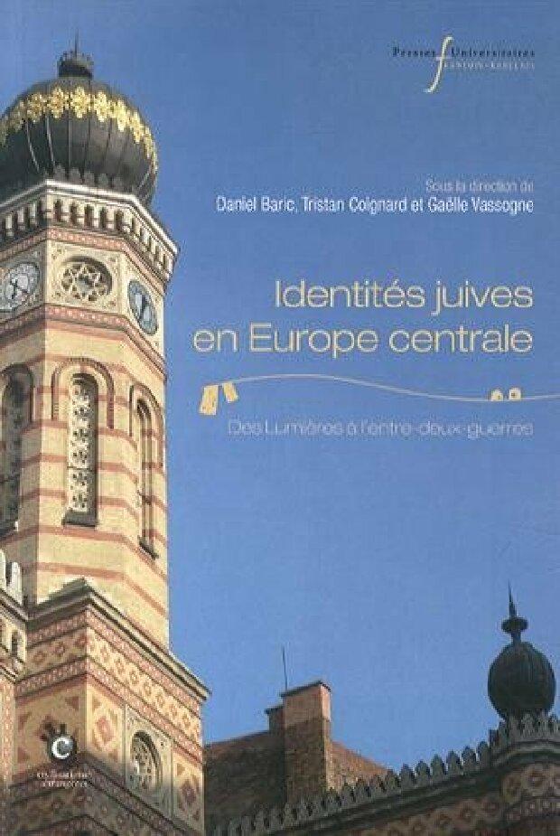 Livre - Identités juives en Europe centrale