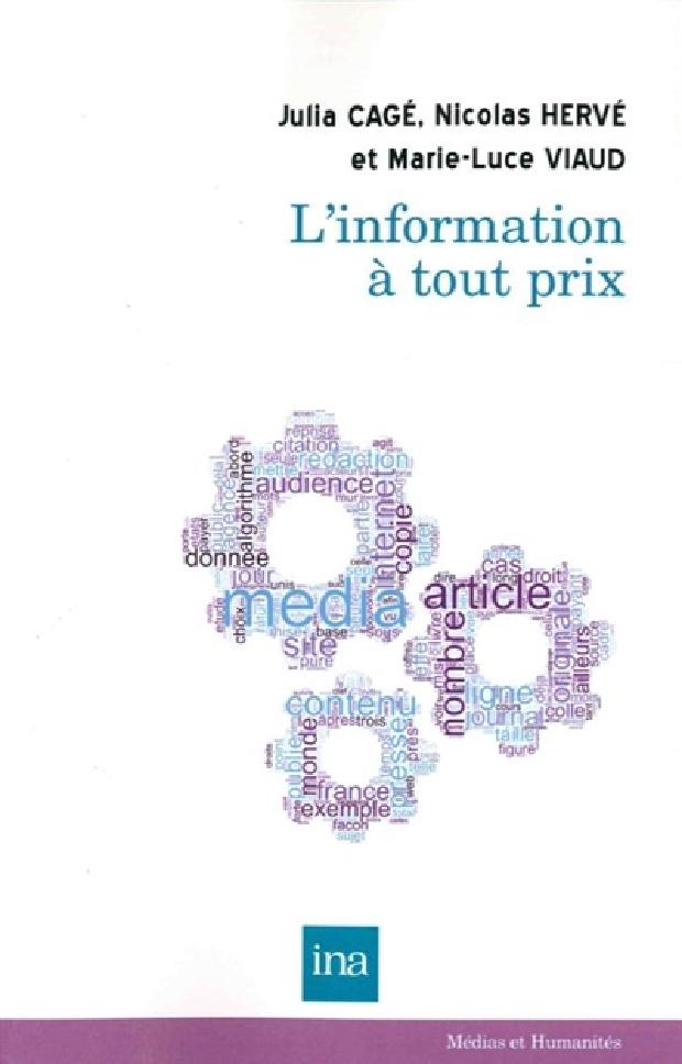 Livre - L'information à tout prix
