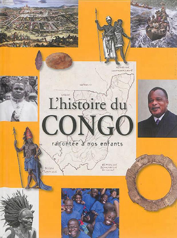 Livre - L'histoire du Congo racontée à nos enfants