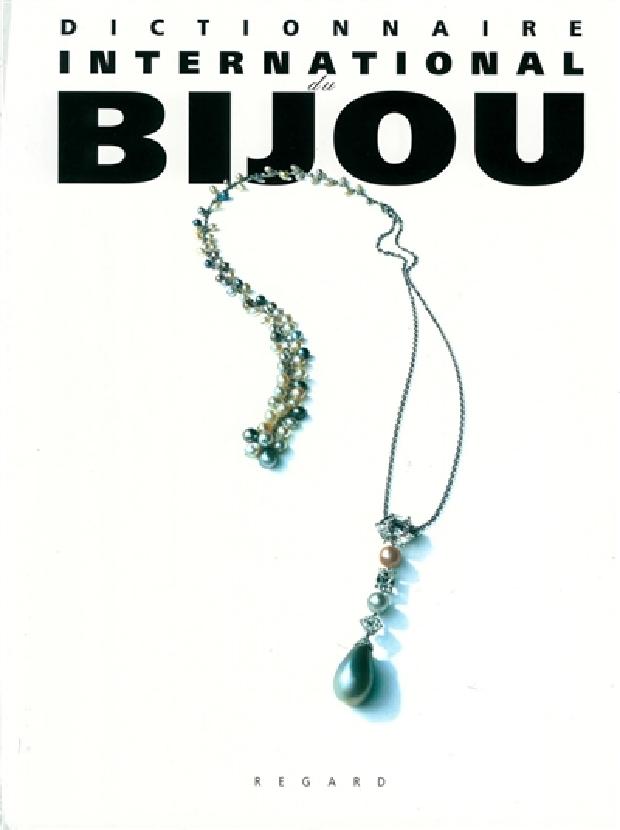 Livre - Dictionnaire international du bijou