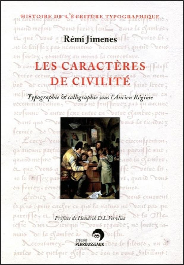 Livre - Les caractères de civilité