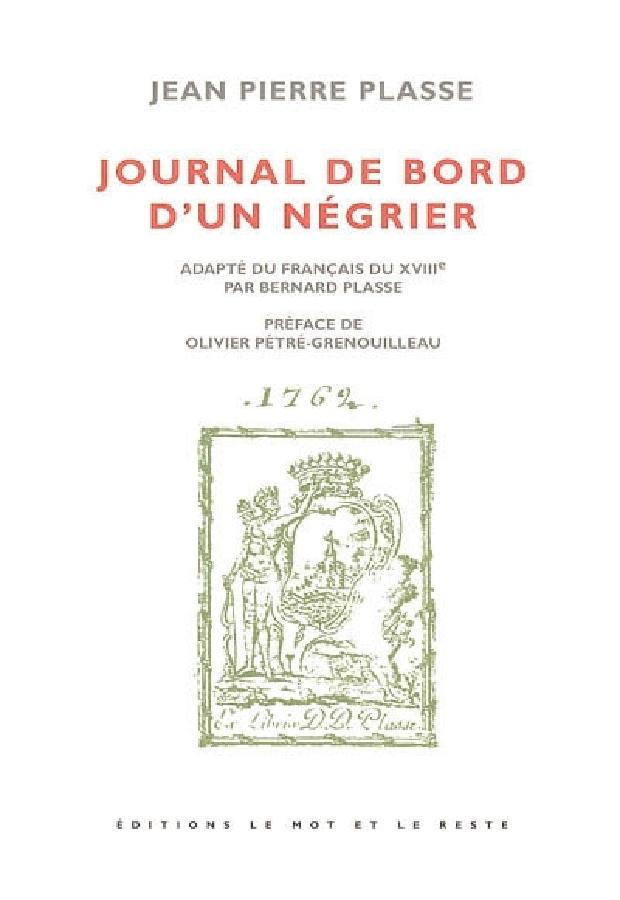 Livre - Journal de bord d'un négrier