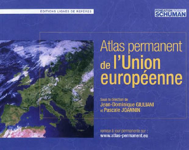 Livre - Atlas permanent de l'Union européenne