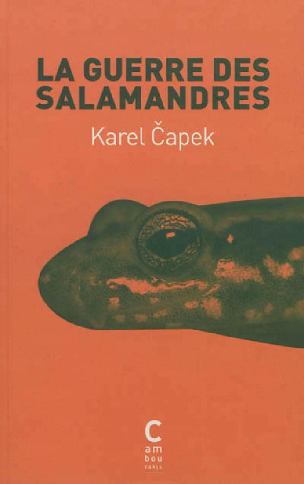 Livre - La guerre des salamandres