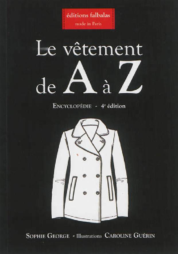 Livre - Le vêtement de A à Z