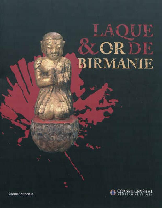 Livre - Laque & or de Birmanie