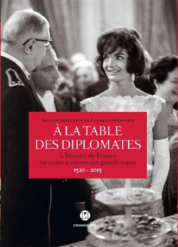 Livre - À la table des diplomates